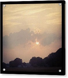 Southern Indiana Sunset Acrylic Print