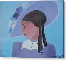 Southern Lady Acrylic Print by Glenda Barrett