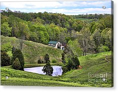 Southern Landscapes IIi Acrylic Print by Chuck Kuhn