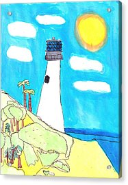 Southern Lighthouse Acrylic Print