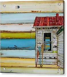 Southern Maine Beach Shack Acrylic Print by Danny Phillips