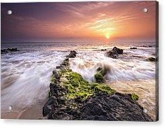 Southern Maui Sunset Acrylic Print