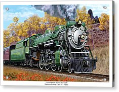 Southern Railway Class Ps-4 Pacific Acrylic Print by Mark Karvon