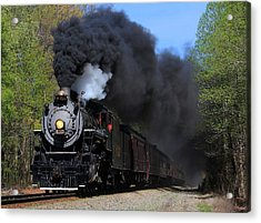 Southern Railway Steam Engine #630 Acrylic Print