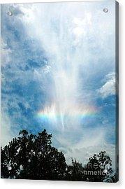 Southern Rainbow Cloud Acrylic Print