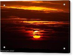 Southern Sunset Acrylic Print by Shannon Harrington