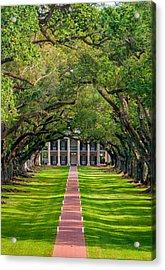 Southern Time Travel Acrylic Print by Steve Harrington
