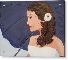 Southern Woman Acrylic Print by Glenda Barrett