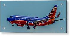 Southwest 737 Landing Acrylic Print
