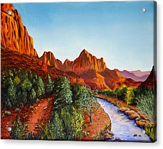Southwest Afternoon Acrylic Print