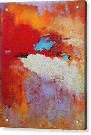 Southwest Color Burst Acrylic Print by M Diane Bonaparte