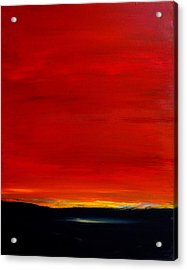 Southwest Desert Sunrise Acrylic Print