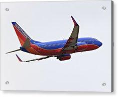 Southwest Skies Acrylic Print by Ricky Barnard