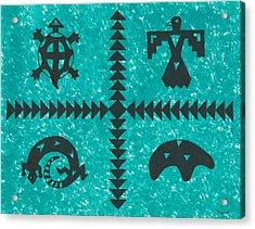 Southwest Symbols Acrylic Print