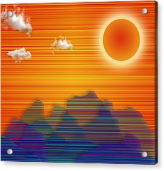Southwestern Acrylic Print