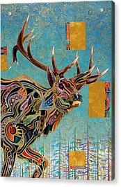 Southwestern Elk Acrylic Print