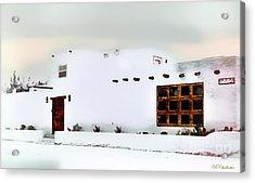 Southwestern Pueblo  Acrylic Print