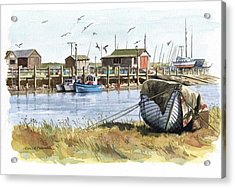 Southwold Acrylic Print by Colin Parker