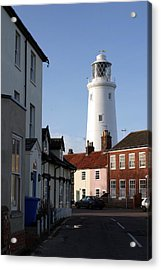 Southwold Lighthouse Acrylic Print by Tony Webb