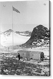 Soviet 'oasis' Antarctic Station, 1958 Acrylic Print by Science Photo Library