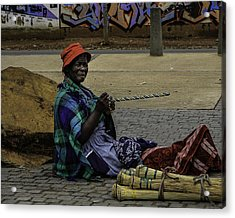 Soweto Artist Acrylic Print