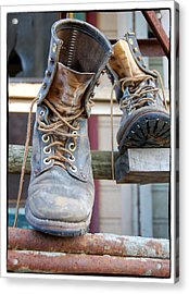 Sp Boots Acrylic Print