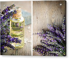Spa With Lavender  Acrylic Print by Mythja  Photography