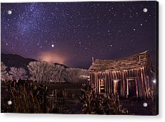 Space And Time Acrylic Print by Cat Connor