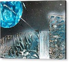 Space-fall Acrylic Print