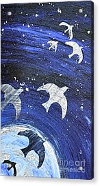 Space Flight Acrylic Print