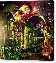 Space Garden Acrylic Print