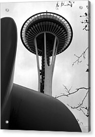 Space Needle Acrylic Print by Kirt Tisdale