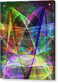 Space Odyssey 20130511v2 Acrylic Print by Wingsdomain Art and Photography
