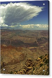 Space On Earth Acrylic Print by Lovejoy Creations