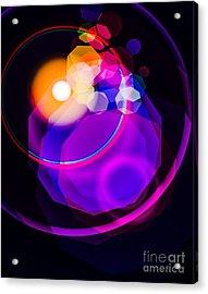 Space Orbit Acrylic Print