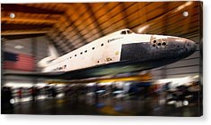 Space Shuttle Endeavour Acrylic Print