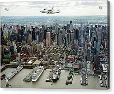 Space Shuttle Enterprise Piggyback Flight Acrylic Print