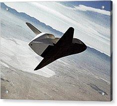 Space Shuttle Enterprise Test Flight Acrylic Print