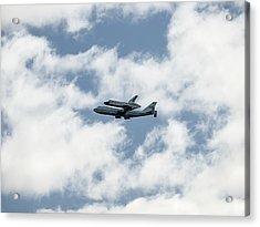 Space Shuttle Enterprise  Acrylic Print by Wayne Gill
