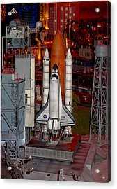 Space Shuttle Acrylic Print