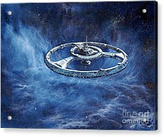 Deep Space Eight Station Of The Future Acrylic Print