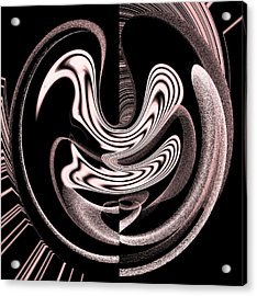 Space Time Continuum Acrylic Print by Georgeta  Blanaru