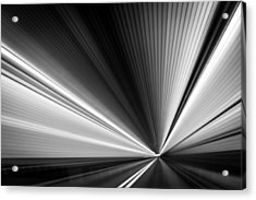 Acrylic Print featuring the photograph Space-time Continuum by Mihai Andritoiu