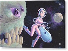 Space Walk Acrylic Print