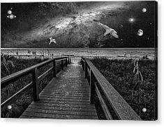 Space Walkway Acrylic Print