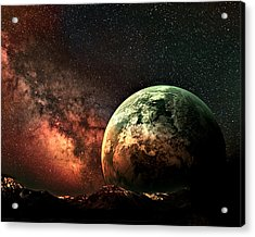 Spaced Out Acrylic Print