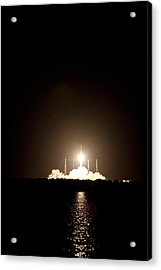 Spacex Crs-1 Launch Acrylic Print by Nasa