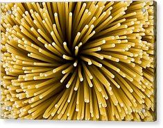 Spaghetti Noodles Acrylic Print by Joe Belanger