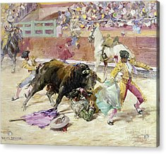 Spain - Bullfight C1900 Acrylic Print by Granger