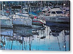 Spain Series 05 Port Del Balis Acrylic Print by Yuriy Shevchuk